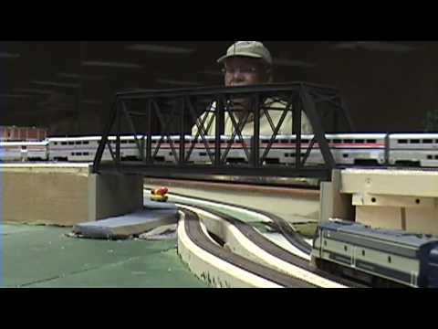 Ho scale amtrak empire builder, micro coat flat review