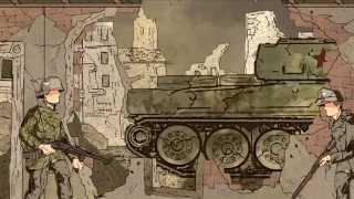 WWII animation- Battle of Berlin, 1945