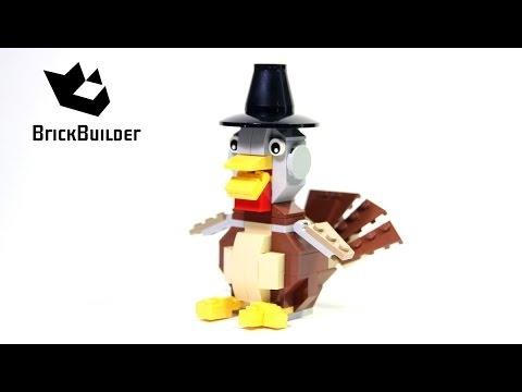 Vidéo LEGO Saisonnier 40091 : La dinde de Thanksgiving
