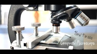 How to Setup & Use a COMPOUND MICROSCOPE | Basic parts and function | Olympus GB Microscope