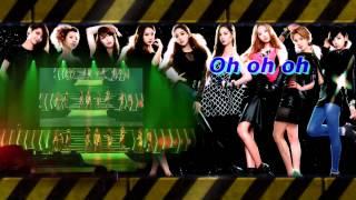Girls Generation(SNSD) - Beautiful Stranger karaoke instrumental