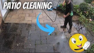 Patio Cleaning [ JET WASHING ]