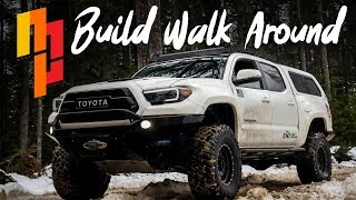 3rd Gen Toyota Tacoma TRD Off-Road | Exterior and Interior mod - Build Walk Around | Maxx Powell