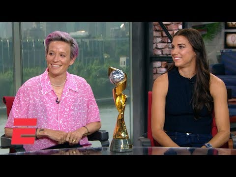 Megan Rapinoe, Alex Morgan on USWNT winning World Cup, fight for equal pay | 2019 Women's World Cup