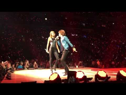 Taylor Swift and Mick Jagger LIVE in Nashville, TN