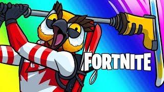 Fortnite Battle Royale Funny Moments - Team Canada!
