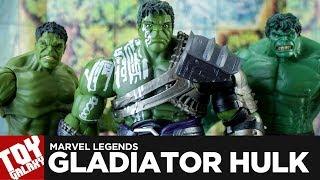 Marvel Legends Gladiator Hulk BAF Review
