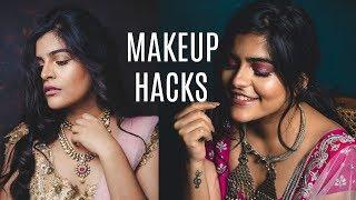 MAKEUP HACKS FOR WEDDING / FESTIVE  SEASON | MAKEUP Q&A