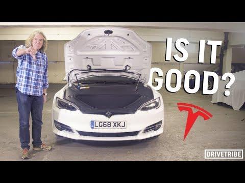 James May reviews the Tesla Model S P100D