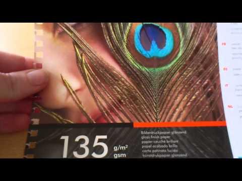 Bilderdruckpapier glänzend 135 g/m²