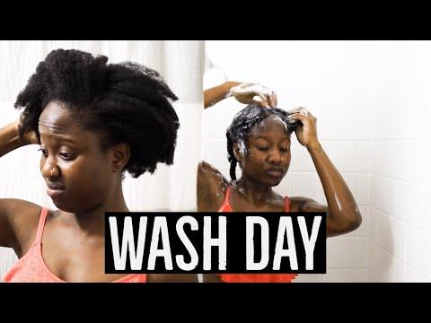 My Wash Day Routine 4C Hair | JASMINE ROSE