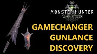 Gamechanger Gunlance Discovery. Some attacks are better than they seem to.