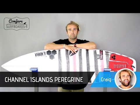 Channel Islands Surfboards Peregrine Review + Futures Fins AM2 no.153 | Compare Surfboards