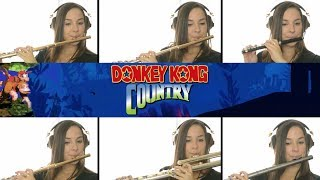 Donkey Kong Country: Aquatic Ambience on Flute + Sheet Music!