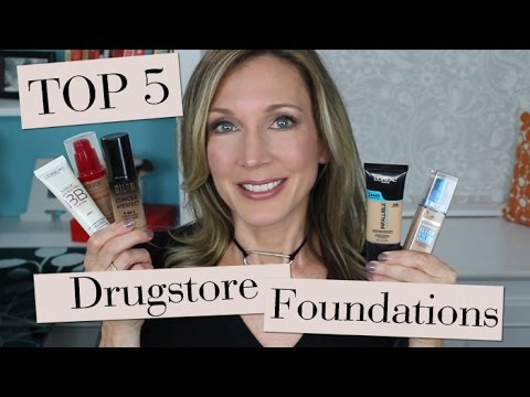 Top 5 Best Drugstore Foundations for Mature Skin