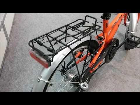 Little Dax Jugendfahrrad Kinderfahrrad Jugendbike orange Nabendynamo