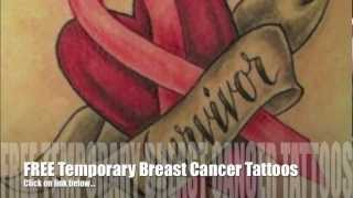 Breast Cancer Ribbon Tattoos: Lots Of Ideas!