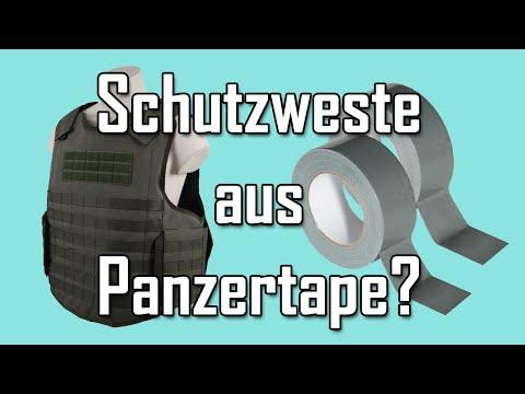 Schutzweste aus Panzertape / Gewebeklebeband? - Let's Shoot #86