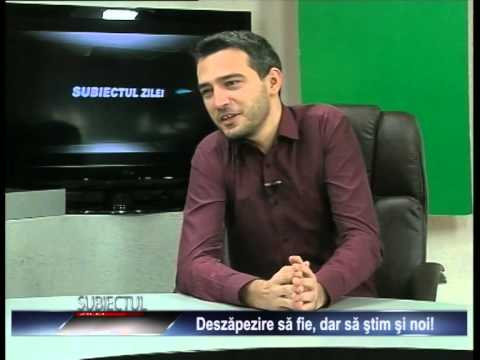 Emisiunea Subiectul zilei – Alex Călinoiu – 3 decembrie 2014
