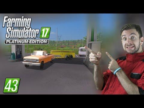 DOŽIVOTNÍ ZÁSOBY PALIVA | Farming Simulator 17 #43