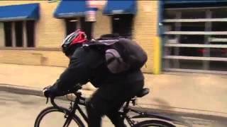 Amazing Chicago man bikes 20 miles