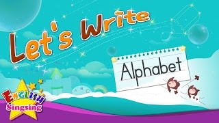 Hãy Viết - Alphabet từ A đến Z - Làm thế nào để Viết abc cho trẻ em