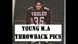 YOUNG M.A throwback PICTURES - COMPILATION