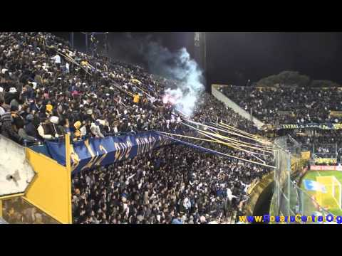 """""""Rosario Central (Los Guerreros) vs Huracan"""" Barra: Los Guerreros • Club: Rosario Central"""
