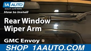 Wiper Arm Replacement Video
