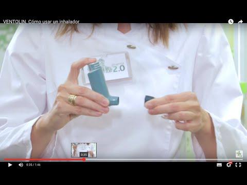 VENTOLIN. Cómo usar un inhalador