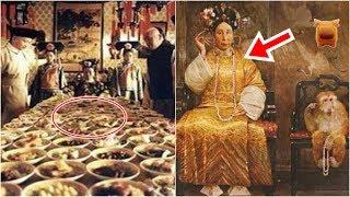 慈禧太后生活有多奢侈?看到她「吃蘋果的方  式」,所有人都驚呆了!這也太扯了吧...!