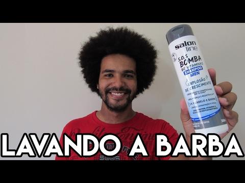 COMO LAVAR A BARBA EM CASA