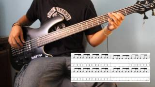 3 doors down - Kryptonite (Bass Cover) WITH TABS
