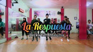Becky G Ft. Maluma – La Respuesta | ZUMBA | FITNESS | D'one Studio Balikpapan