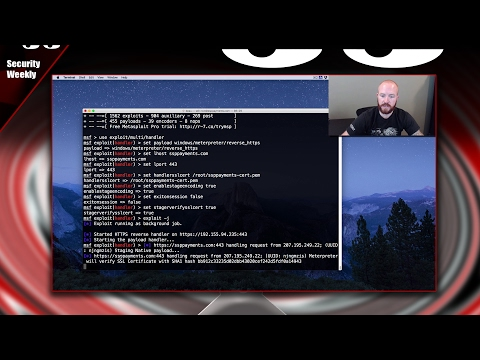 Meterpreter with Categorized Domains & Trusted Certs – Tradecraft Security Weekly #4