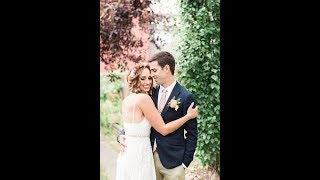 Calgary Wedding Photographer: Intimate DIY Backyard Wedding
