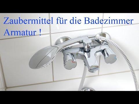 Zaubermittel für die Badezimmer Armatur ! -  Magic For The Bathroom Faucet