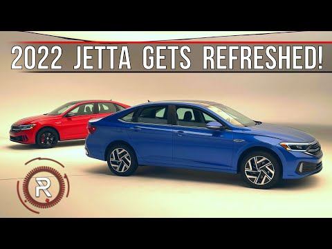 2022 Volkswagen Jetta SEL & Jetta GLI – Redline: First Look