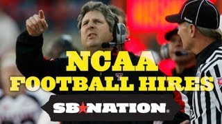 Early Expectations for Mike Leach and other College Football Coach Hires thumbnail