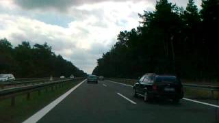 preview picture of video 'B87 - A13 - A4 - A72  Frankfurt am Oder - Chemnitz'