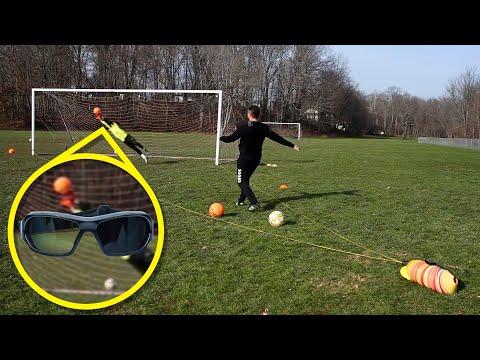 Advanced Goalkeeper Training with Senaptec Strobe Glasses