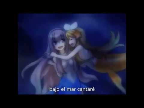 Megurine Luka V2 -The little mermaid/la sirenita luka (en español)VOCALOID 3