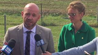 Niall Blair And Steph Cooke Announce Funding Cowra DPI