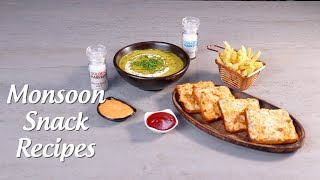 Easy Monsoon Snacks
