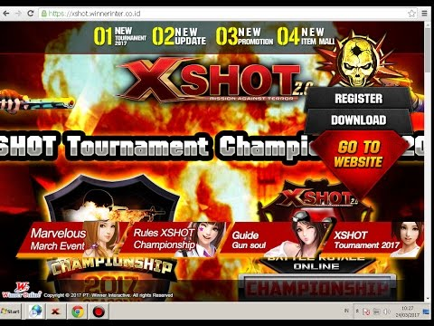 Video Cara Transfer Item XSHOT Indonesia 2017