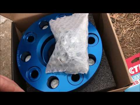 Jeep Commander Wheel Spacer Install and Test Drive