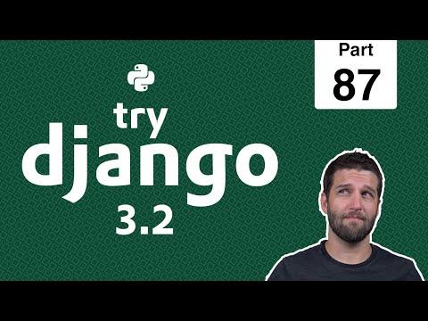 87 - Toggle Recipes into Meal Queue & Test - Python & Django 3.2 Tutorial Series thumbnail