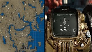 Fallout 4 Color Map 4K And Fallout Texture Overhaul PipBoy 4K UHD