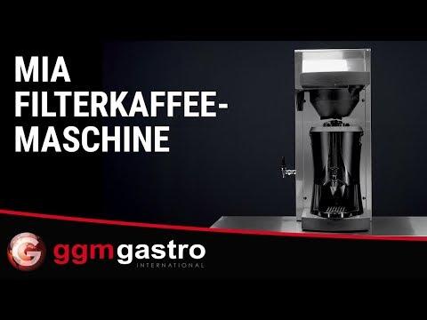 Filterkaffeemaschine FKMC5 Seria Mia - GGM Gastro