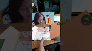 AR Wedding Invitation Card Demo 2